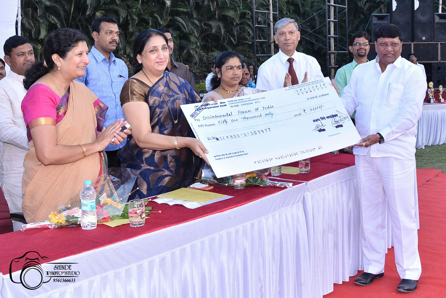 State level science exhibition, Baramati Environmental Forum of India's initiative